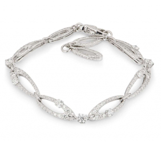 Bvlgari Fine Diamond White Gold Bracelet