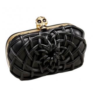 Alexander McQueen Woven Cord Box Clutch