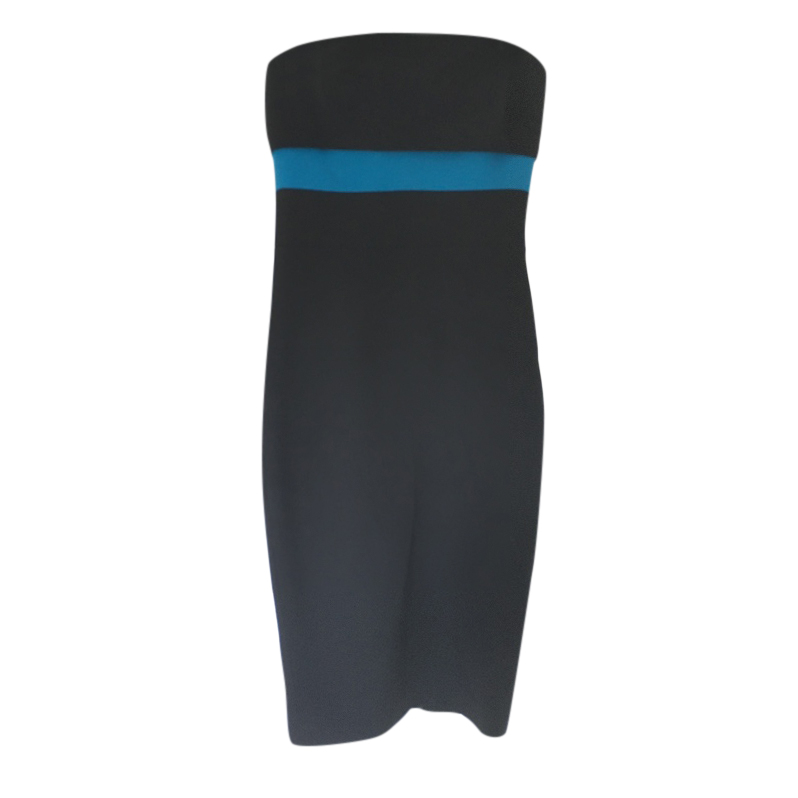 Victoria Beckham Strapless Black Dress