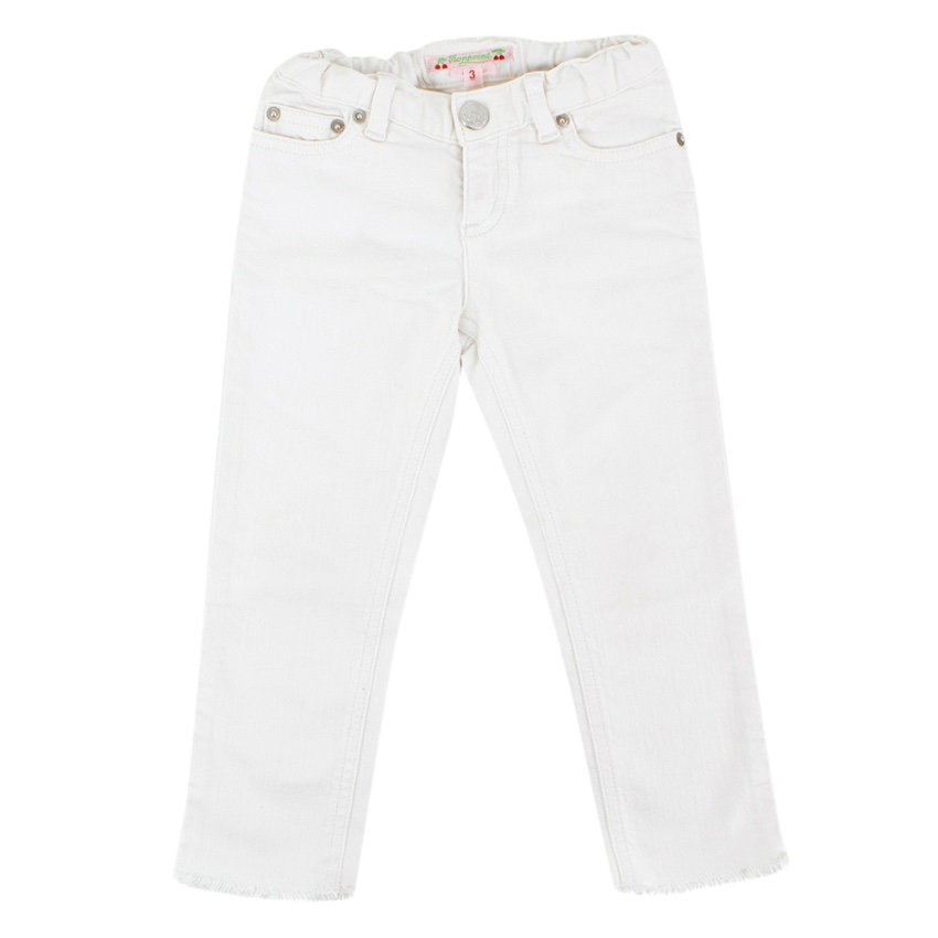 Bonpoint Kid's White Jeans