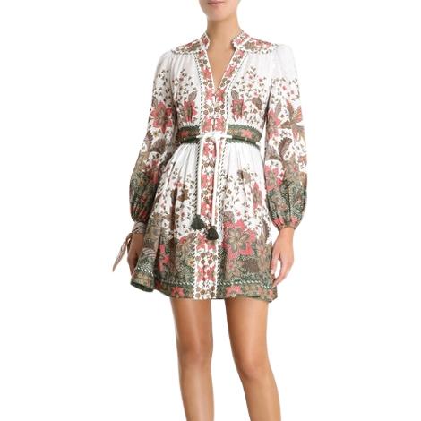Zimmerman Empire Batik Short Dress