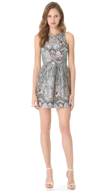 Zimmermann Jacquard Paisley Mini Dress