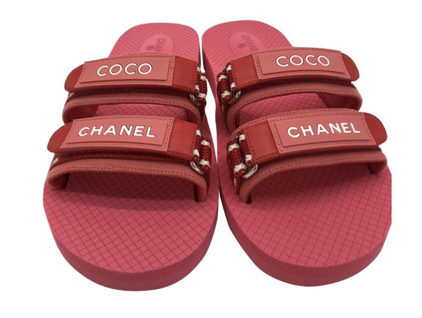 Chanel Coco Chanel Pink Sandals   HEWI