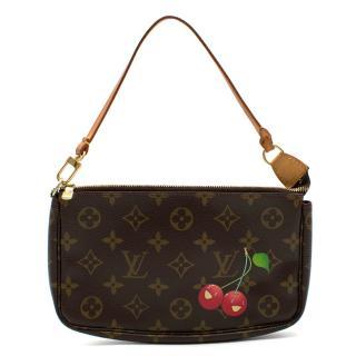 Louis Vuitton x Takashi Murakami Cherry Pochette Accessoires