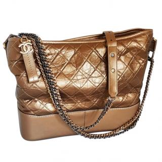 Chanel Bronze Medium Gabrielle Bag