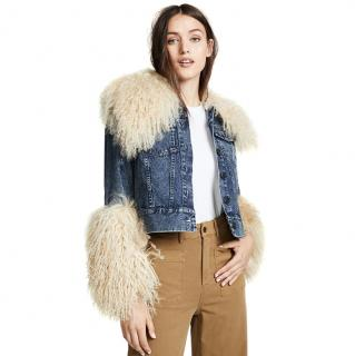 Sea New York Jocelyn Shearling Denim Jacket