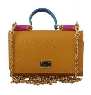 Dolce & Gabbana Sicily Von Wallet On Chain