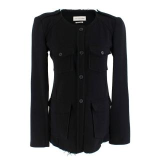 Isabel Marant Etoile Black Wool Blend Jacket