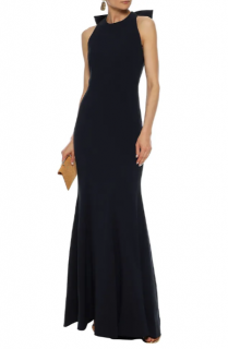 Rebecca Vallance Love bow-embellished cady gown