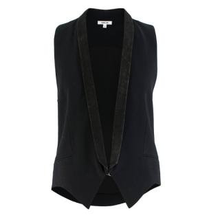 Helmut Lang Black Tailored Gilet