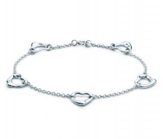 Tiffany & co. Elsa Peretti Open Heart Bracelet