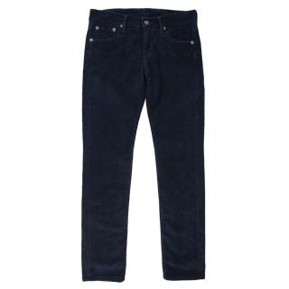 Hackett London Boys Navy Corduroy Trousers