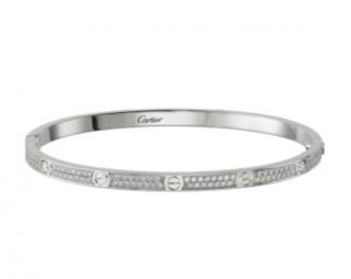 Cartier Love Bracelet - Paved Small Model