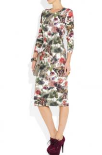 Preen by Thornton Bregazzi Elena printed stretch-jersey dress