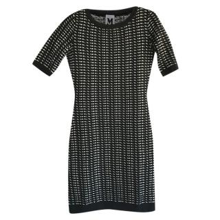 Missoni Wove Black & White Fitted Dress