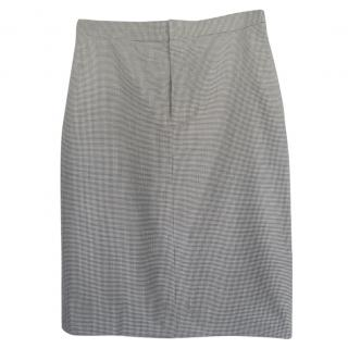 Polo Ralph Lauren Houndstooth Pencil Skirt