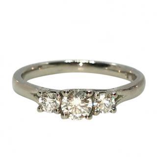 Cred Bespoke Diamond Trilogy Ring