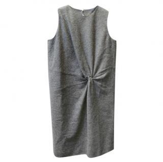 Maison Margiela Grey Twist Front Sleeveless Dress