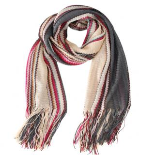 Missoni Woven Knit Scarf