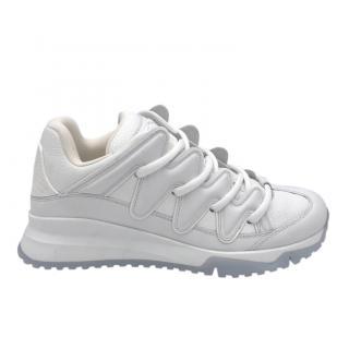 Louis Vuitton White Zig Zag Sneakers