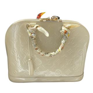 Lous Vuitton Vernis Alama Tote Bag