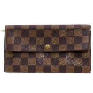 Louis Vuitton Pochette Monnaie Damier Long Wallet