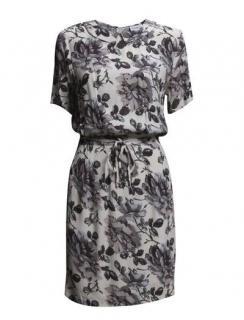 Ganni Rossmoor Crepe Dress
