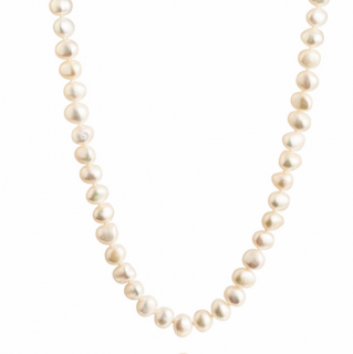 Bespoke Circle Ringed Freshwater Pearl Necklace