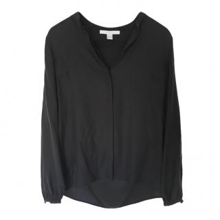 Bamford Black Silk Blouse