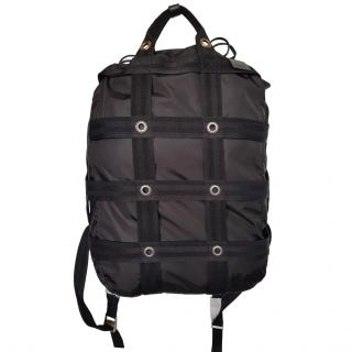 Dunhill Nylon & Canvas Lightweight Backpack