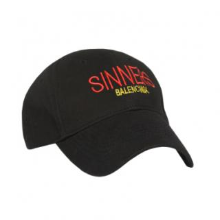 Balenciaga Black Sinners Cap