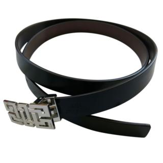 Cartier limited edition sold out black/cherry reversible leather belt