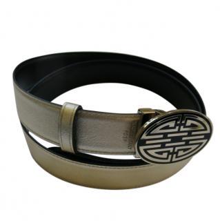Cartier Gold Metallic Dragon Belt
