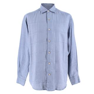 Tommy Bahama Blue Linen Shirt