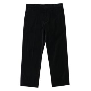 Polo Ralph Lauren Black Velvet Trousers