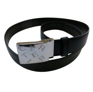 Cartier Black & Brown Reversible Leather Belt