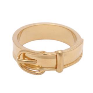 Hermes Vintage Belt Buckle Scarf Ring