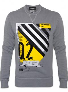 DSQUARED2 Grey Final Issue Crew Sweatshirt