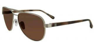 Dunhill SDH053 581 58 Matt Palladium Sunglasses