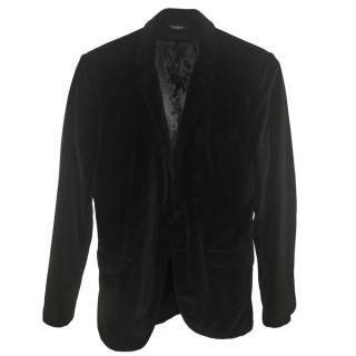 Dolce & Gabbana Men's Black Single Breasted Jacket