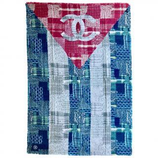 Chanel Silk Patchwork CC Stole