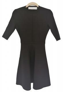 Victoria Beckham Black Fit & Flare Dress
