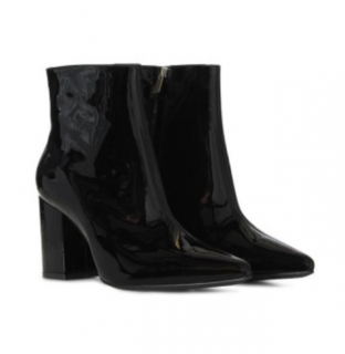Anine Bing Natalie Patent Leather Boots