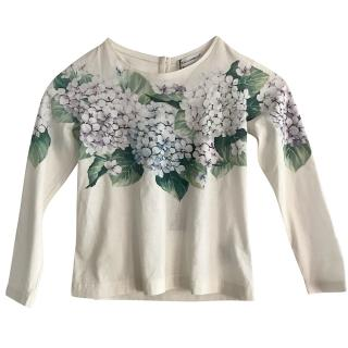 Dolce & Gabbana Taormina Girls Top