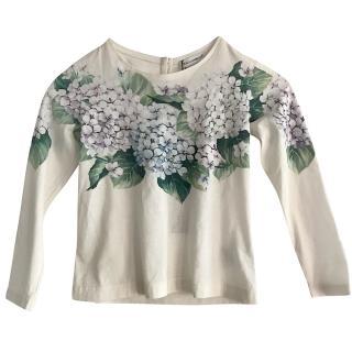 Dolce & Gabbana Taormina Girls Top