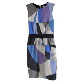Emilio Pucci Geometric Print Sleeveless Dress