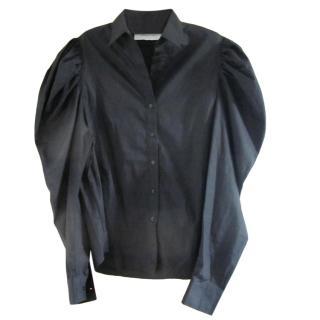 Marques/Almeida Black Puff Sleeve Shirt