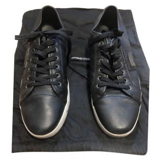 Dolce & Gabbana Sport Black Low-Top Sneakers