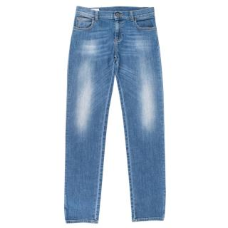 Gucci Kid's 12Y Light Wash Jeans
