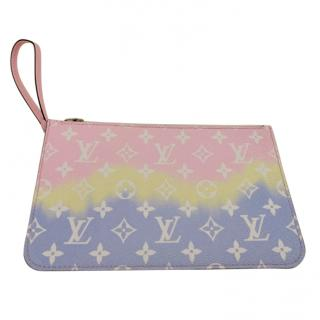 Louis Vuitton Limited Edition Escale Neverfull Pochette.
